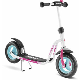 Puky R 03 Balloon Scooter Niños, white/pink